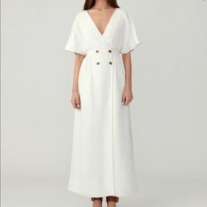 NWT Dolman Linen Dress- Fame and Partners